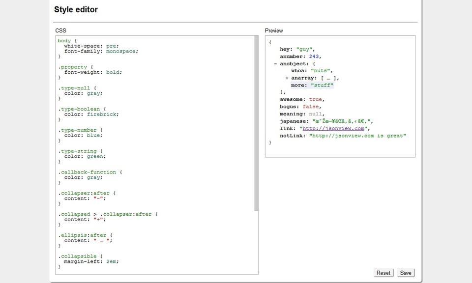 JSONView-JSON 格式查看工具