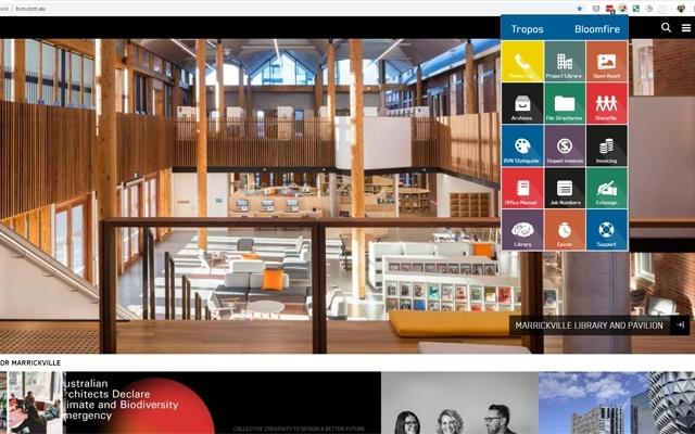 BVN toolbar