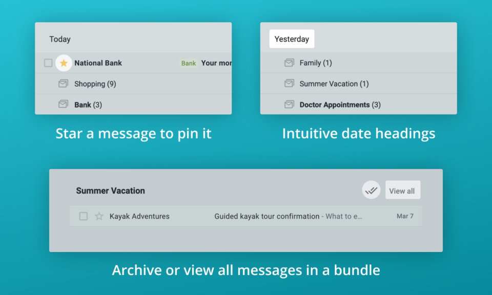 inboxy: Inbox Bundles for Gmail