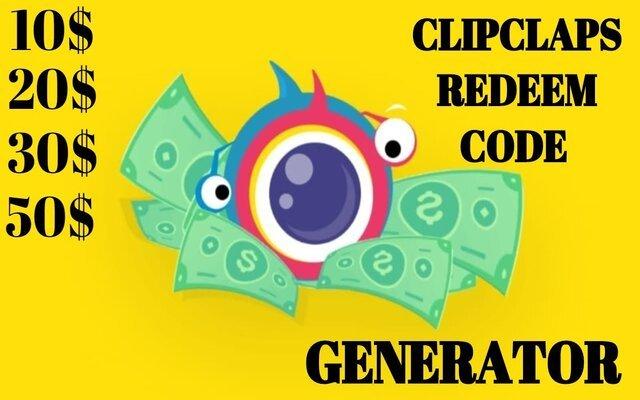 Free ClipClaps Cash Codes Dispenser