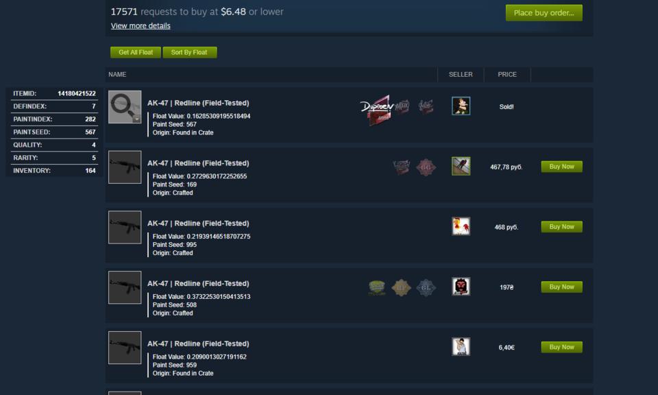 Steam Inventory Helper-Steam 游戏物品交易 Chrome 插件