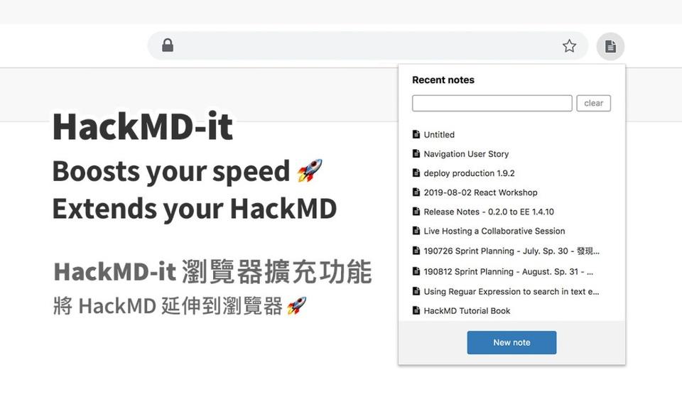 HackMD-it