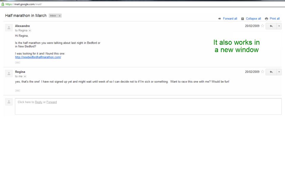 Ad-blocker for Gmail™