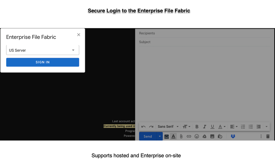 File Fabric GMail Extension