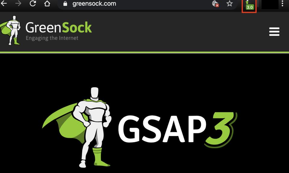 Official GSAP Sniffer