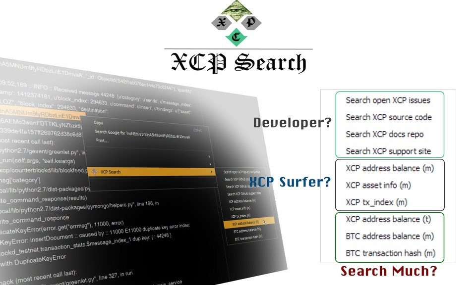 XCP Search