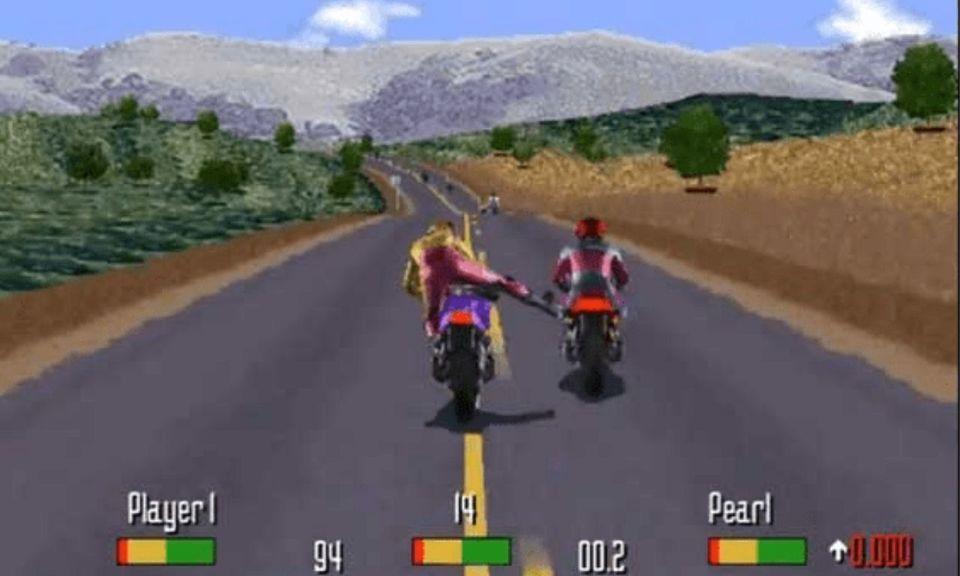 لعبة دراجة نارية تلعب على الانترنت