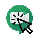 Clickable Google Meet logo 插件