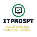 How to Fix Wii Error Code 51330 - ITProSpt 插件