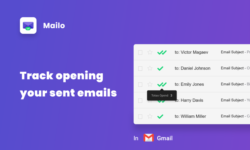 Mailo - Email Tracker for Gmail
