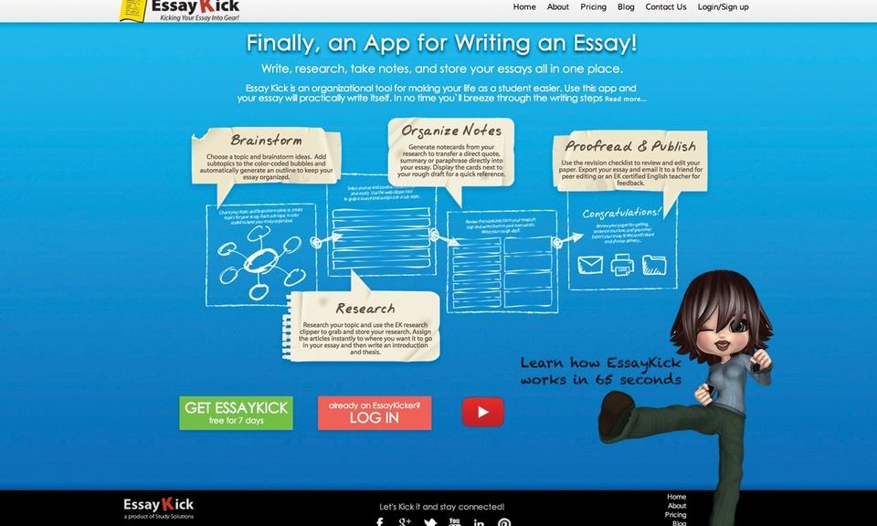 EssayKick Extension