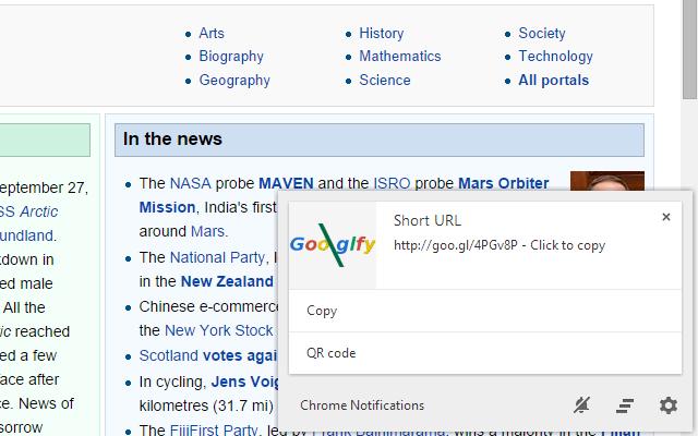 Goo.gl-fy URL shortener