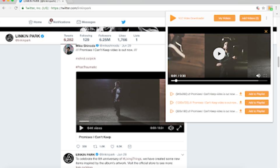 VLC Video Downloader