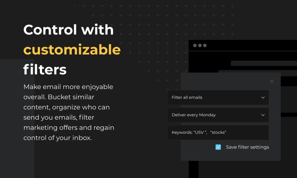 lockrMail: email on your terms