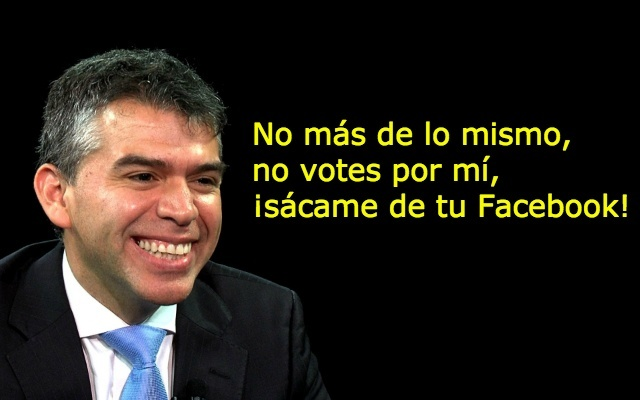 Removedor Julio Guzmán de Facebook