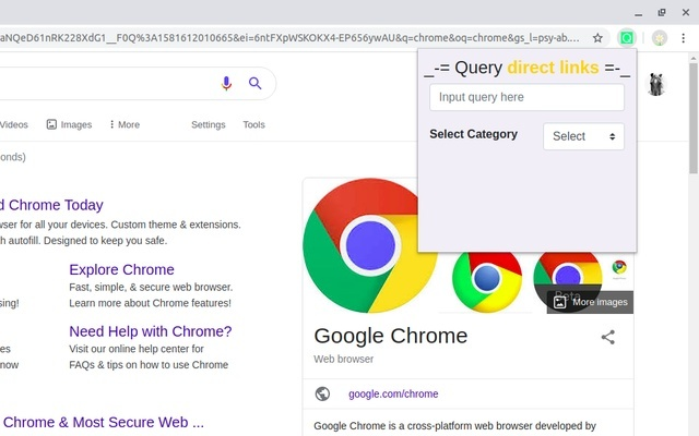 Query direct links