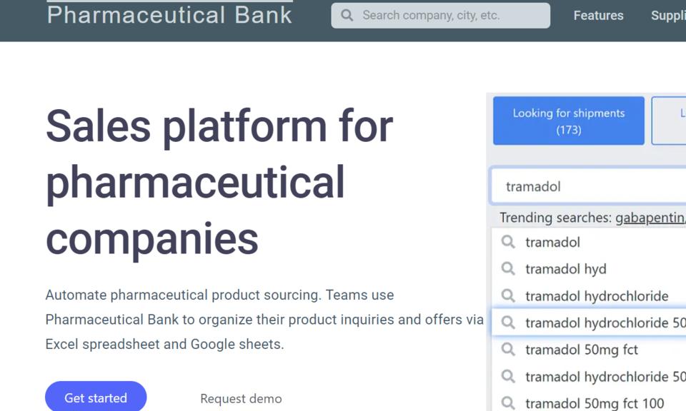Pharmaceutical Bank