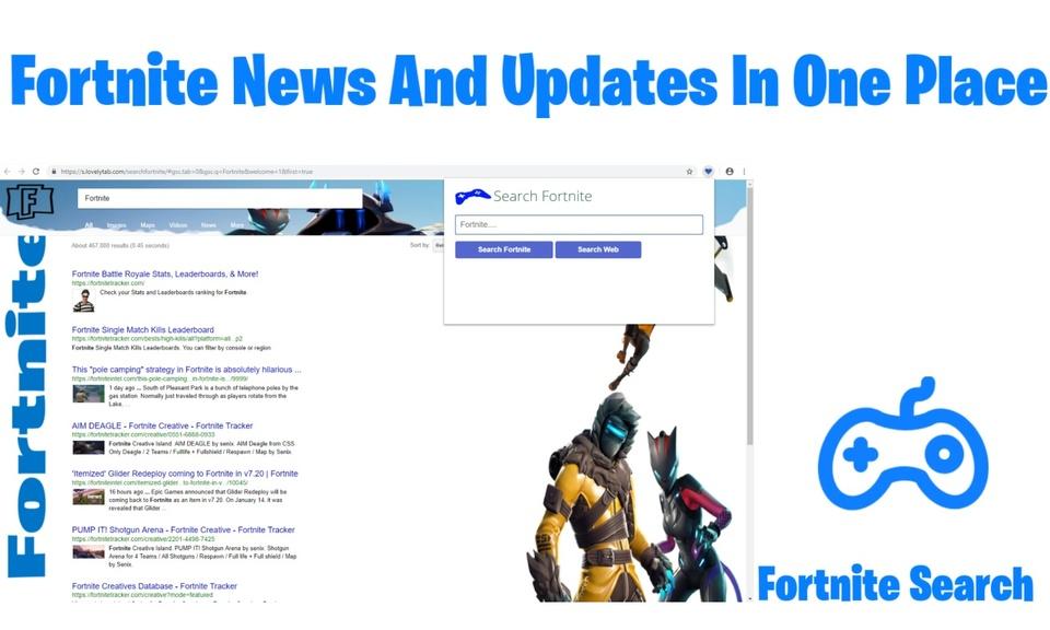 Search Fortnite
