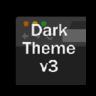Dark Theme v3 - 炫黑主题