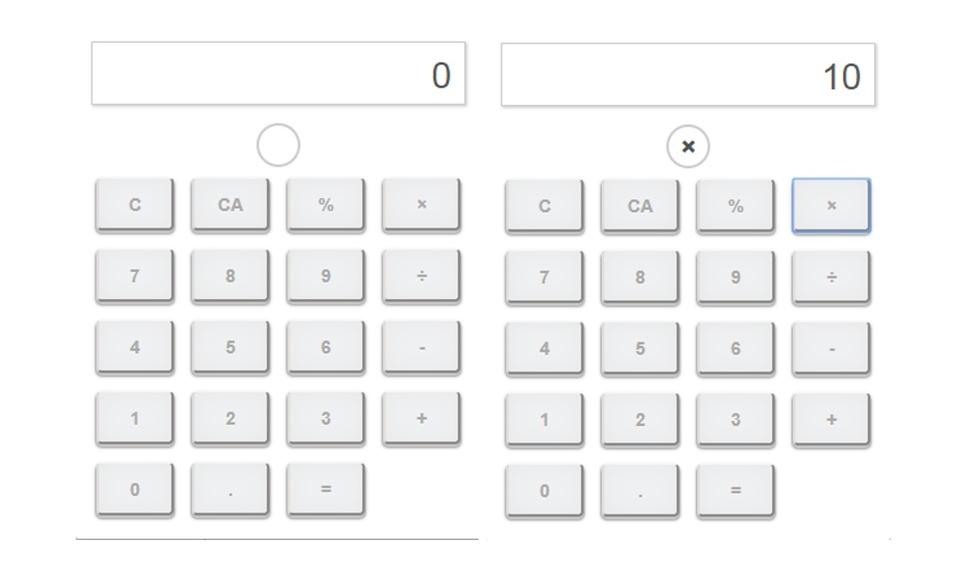 シンプル電卓機 Simple Calculator