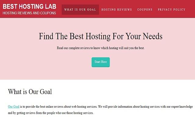 Best Hosting Lab