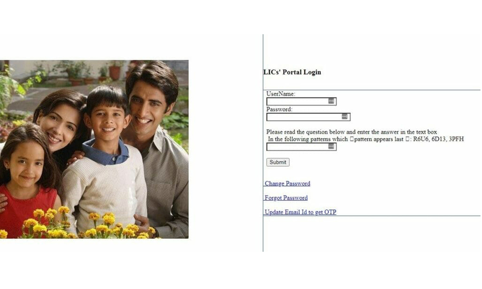 LIC Merchant Portal Login 2021