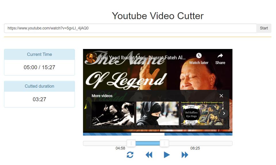 YT Video Cutter