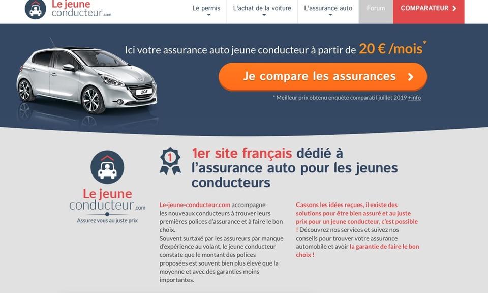Comparateur Assurance Auto Jeune Conducteur