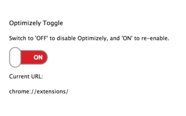 Optimizely Toggle for Chrome