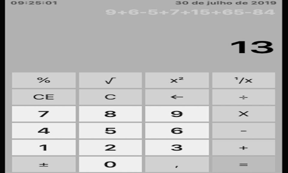 Windows Style Calculator