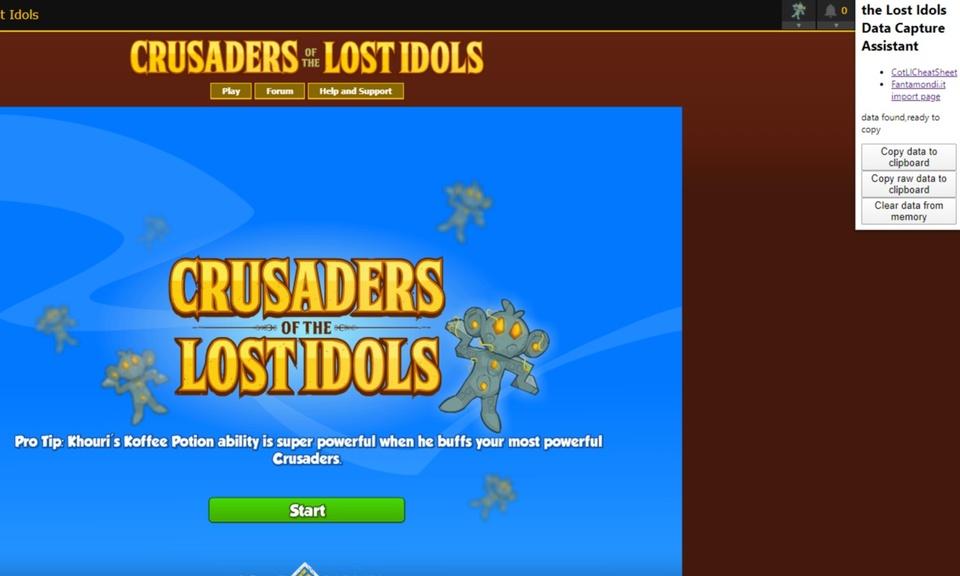 Crusaders Exporter
