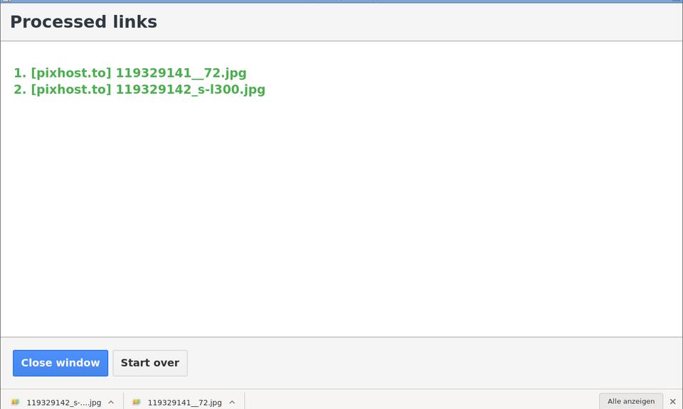 One-click Downloader