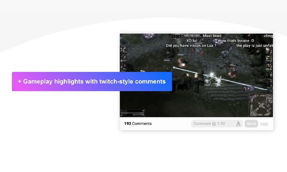 Anonymous Time-synced Comments for YouTube