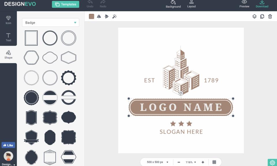 DesignEvo Extension