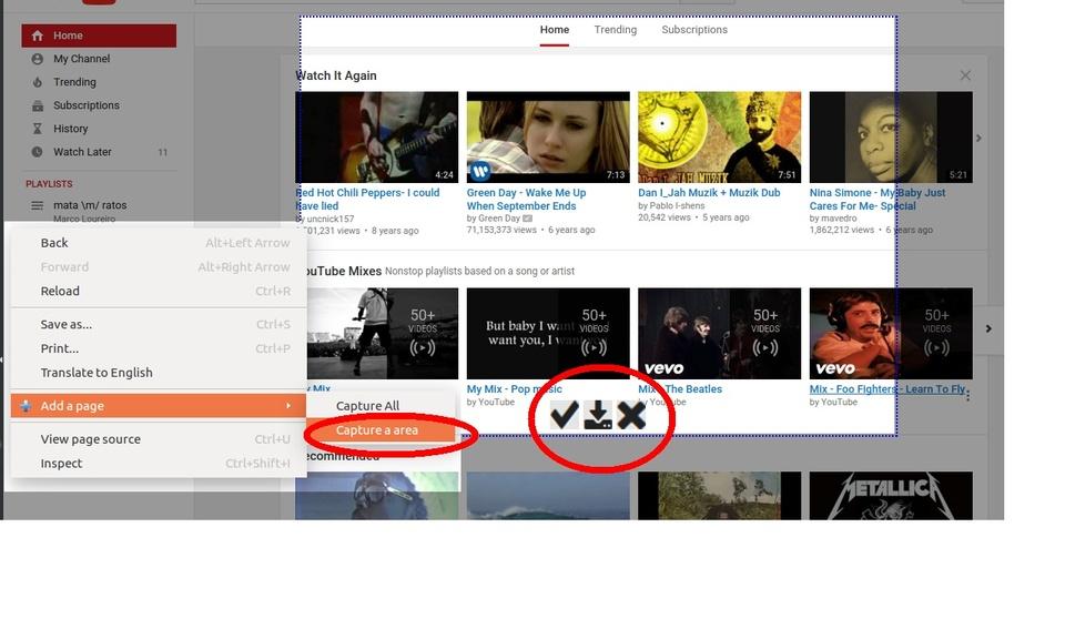 Capture Print Screen (Screenshot)