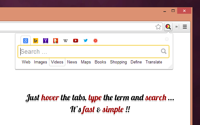 All in one web searcher