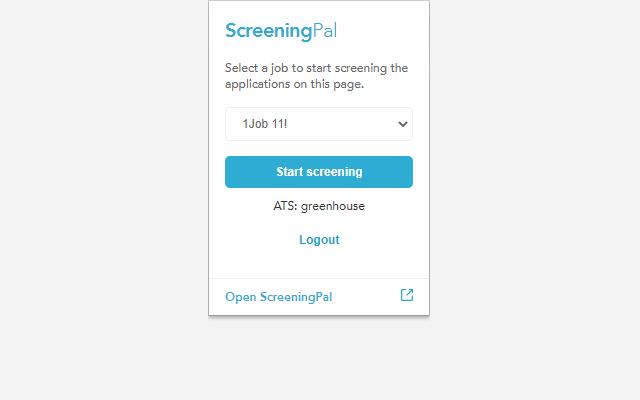 ScreeningPal CV helper