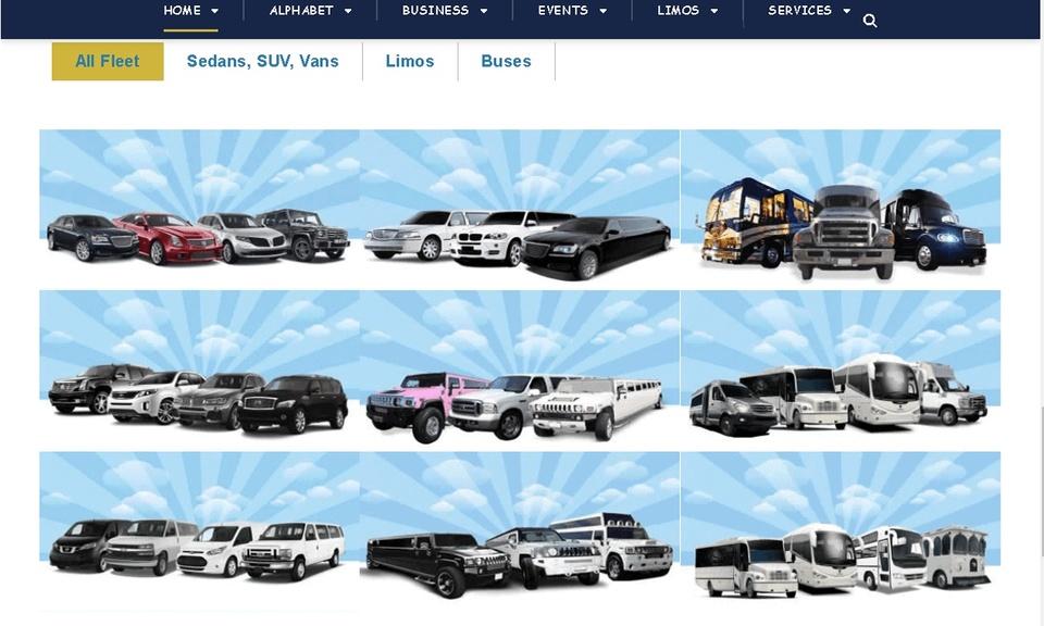 Limousines Directory App