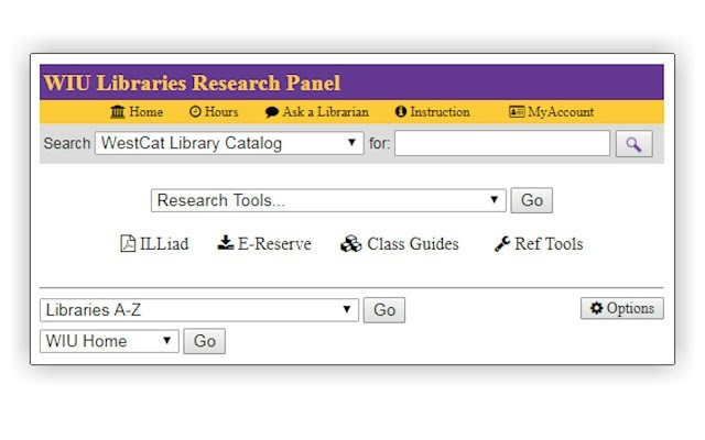 WIU Libraries Research Panel