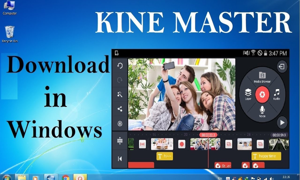 Kinemaster for PC Download & Install