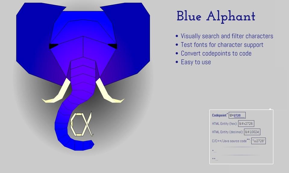 Blue Alphant
