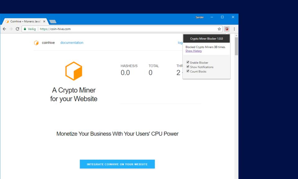 Crypto Miner Blocker