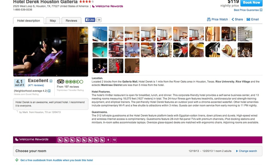 Better Hotels.com Photo Gallery Navigation