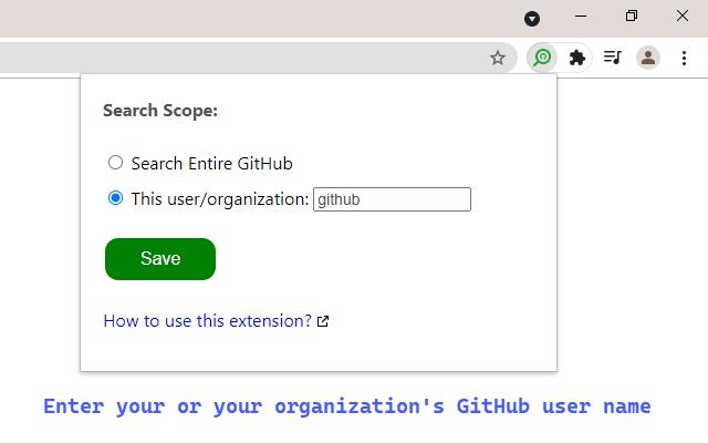GitHub Code Search