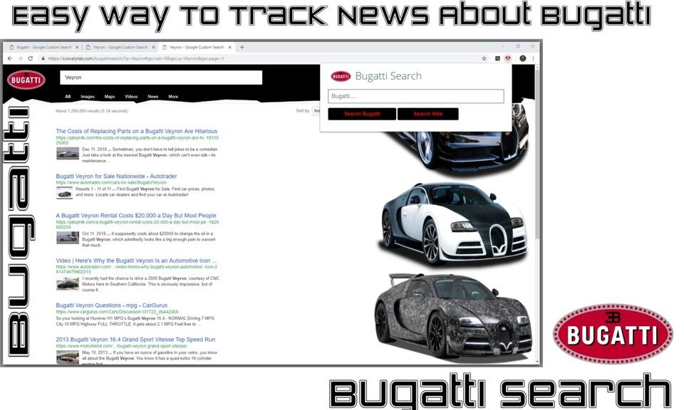 Bugatti Search