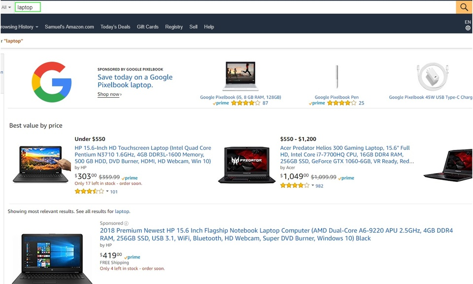 Search Amazon by Image