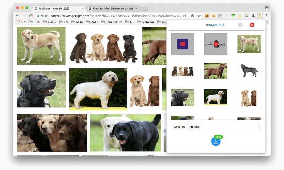 GetThemAll - 图片批量下载插件