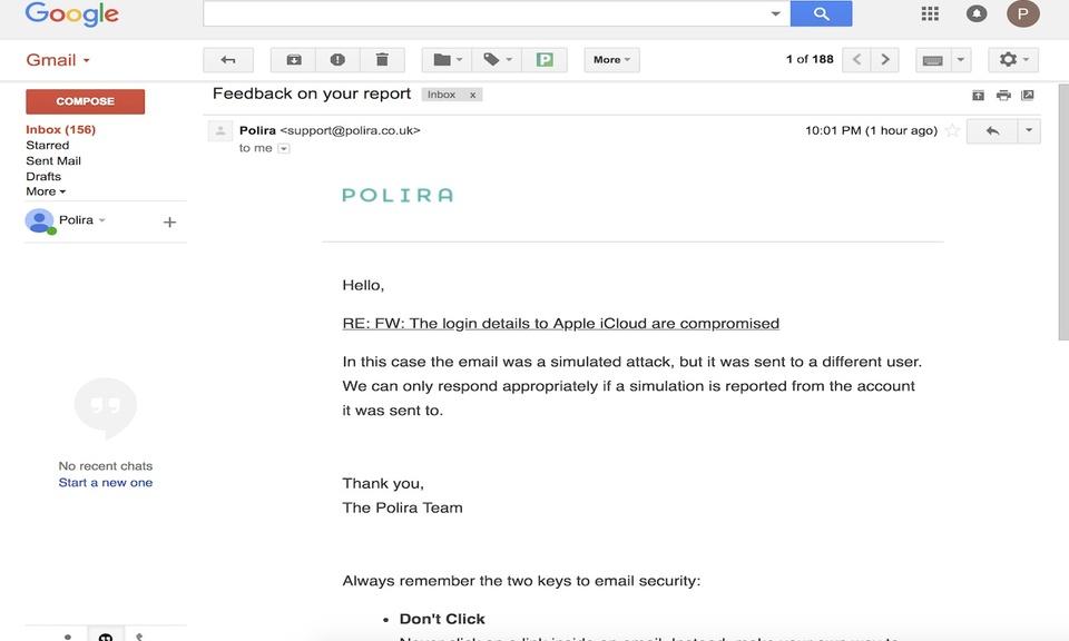 Polira Email Reporter