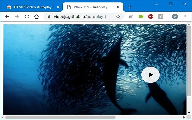Yet another autoplay blocker