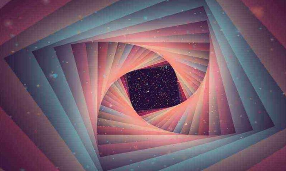 3D Kaleidoscope Animation